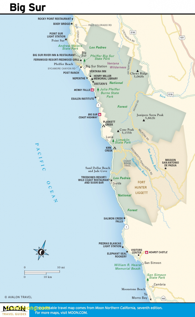 Map Of Us West Coast Seattle Roadtrip Map New California Pacific - Seattle To California Road Trip Map