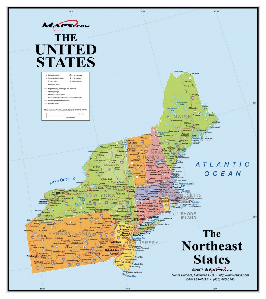 Map Of W B – Maps Driving Directions - Printable Map Of New England