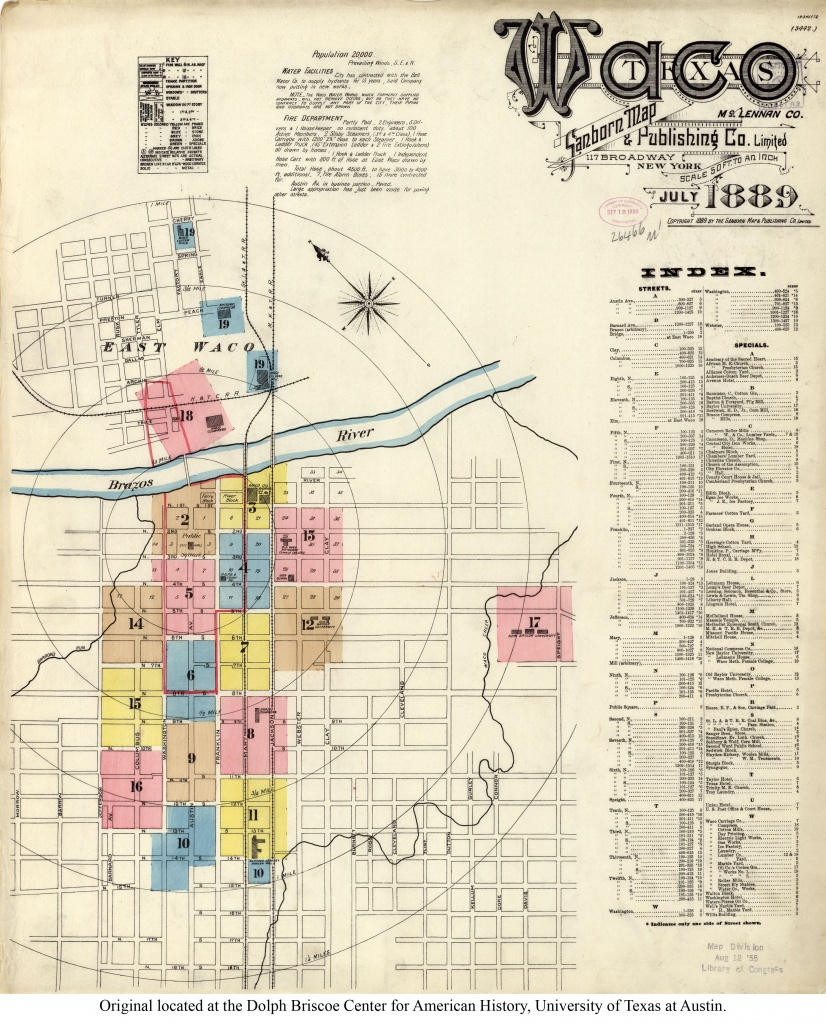 Map Of Waco Tx And Travel Information   Download Free Map Of Waco Tx - Map Of Waco Texas And Surrounding Area