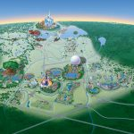 Map Of Walt Disney World Resort   Wdwinfo   Disney World Florida Theme Park Maps