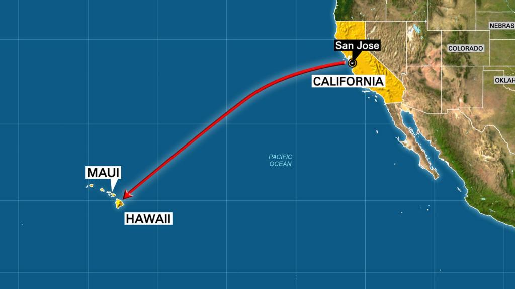 Map Of West Usa And Hawaii - Capitalsource - Hawaii California Map