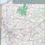 Map Of Western Pennsylvania   Printable Road Map Of Pennsylvania