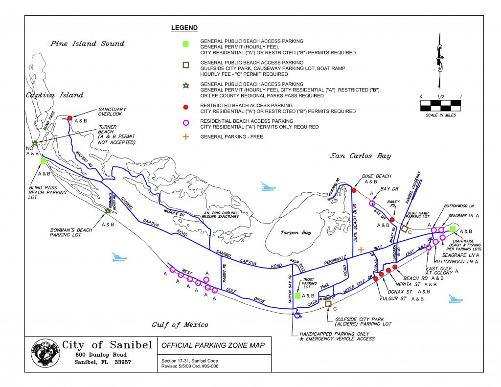 Map Parking On Sanibel | Travel In 2019 | Sanibel Beach, Beach - Sanibel Beach Florida Map