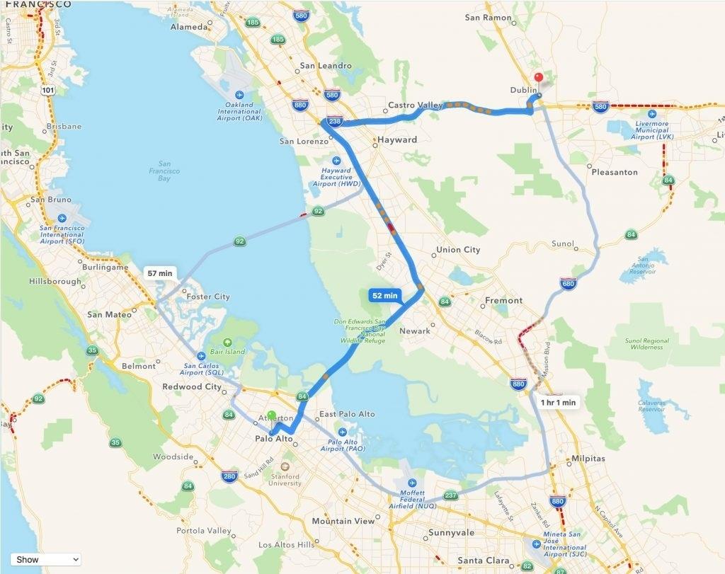 Map Reference. Menlo Park California Map – Reference California Map - Menlo Park California Map