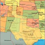 Map Showing Current Usa With The Republic Of Texas Superimposed   Republic Of Texas Map