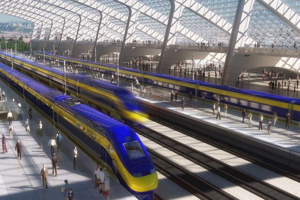 Map Shows High-Speed Rail's Sluggish Progress - Curbed Sf - California High Speed Rail Progress Map