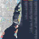 Map Shows Miami Condos Most Threatenedsea Level Rise | Miami New   Coconut Grove Florida Map