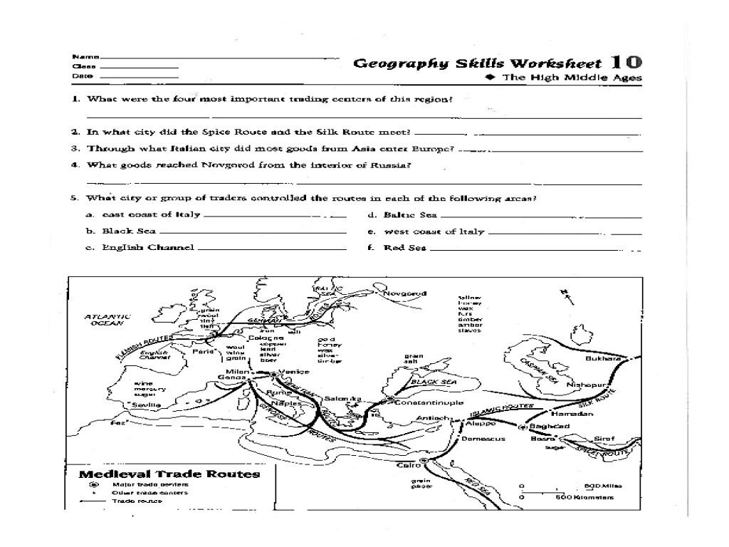 Map Skills Worksheets | Briefencounters - Printable Map Skills Worksheets