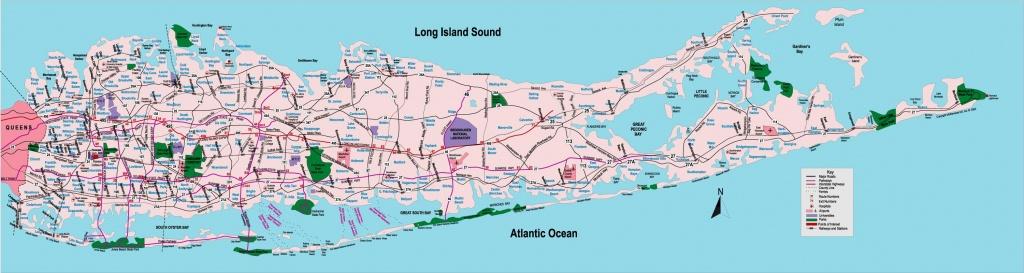 Mapa Long Island Herri - Mapa Long Island Ny Herrietan (New York - Aeb) - Printable Map Of Long Island Ny