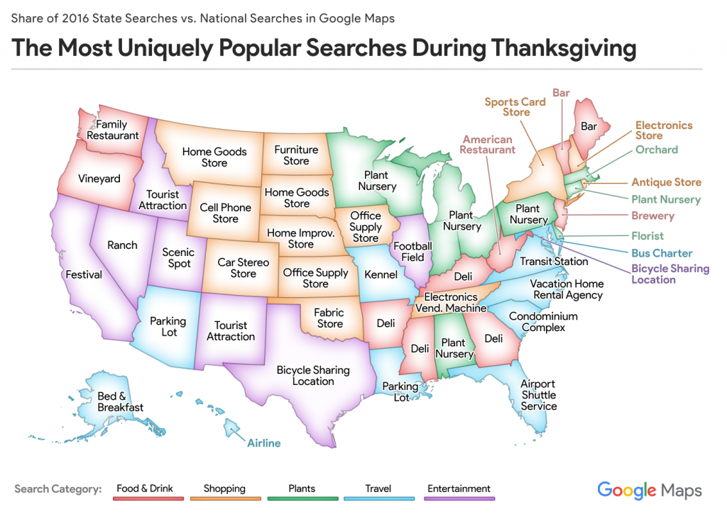 Mapping Thanksgiving - Midnight Texas Map
