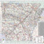 Mapping   Tourist Maps   Arkansas Road Map Printable