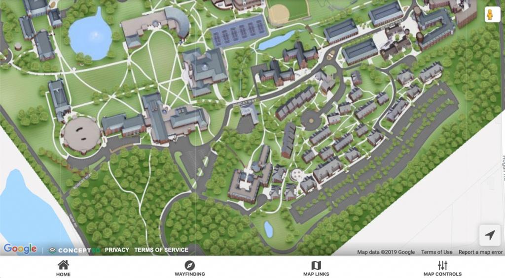 Maps And Directions | Quinnipiac University - Uw Madison Campus Map Printable