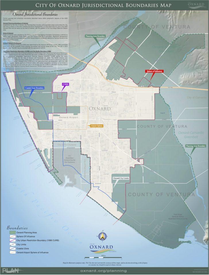 Oxnard California Map