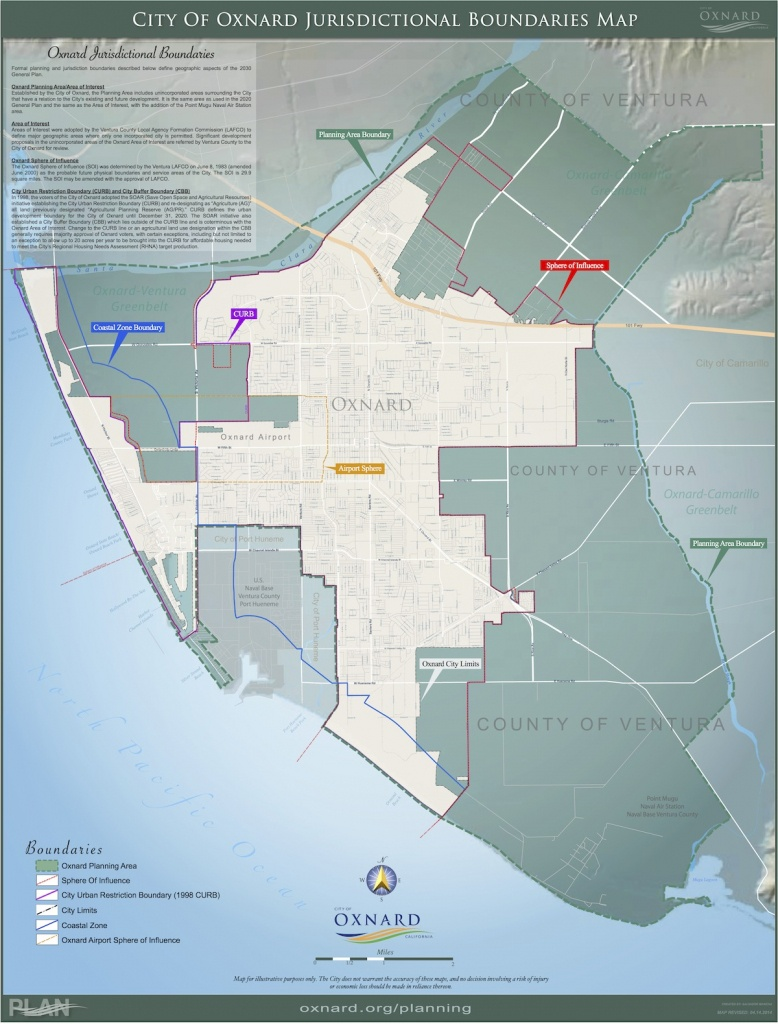 Maps — City Of Oxnard - Oxnard California Map