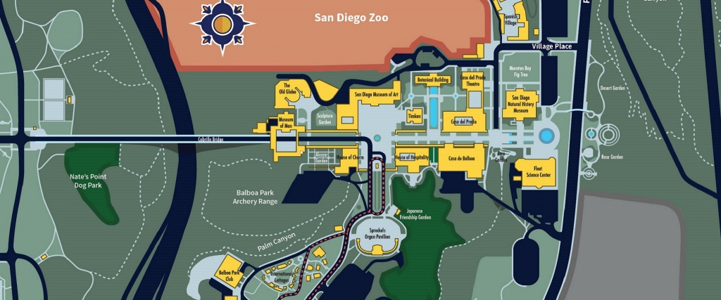Maps & Directions   Balboa Park - Map Of Balboa Park San Diego California