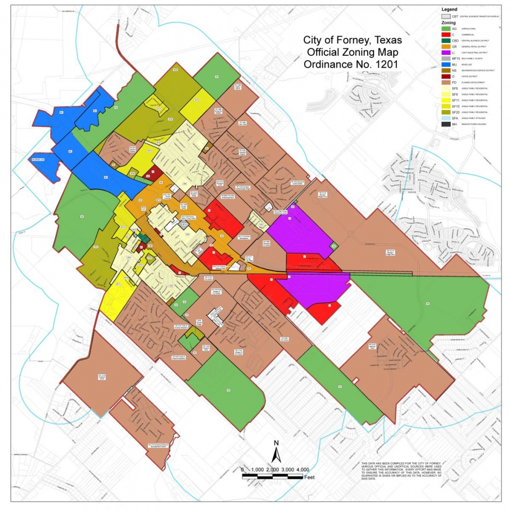Maps | Forney Edc - Texas Property Map