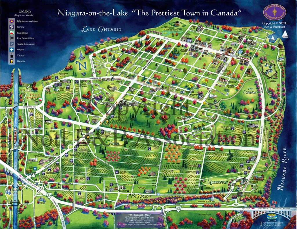 Maps & Getting Around >> Zoom Leisure - Niagara Wine Tours And Bike - Printable Map Of Niagara On The Lake