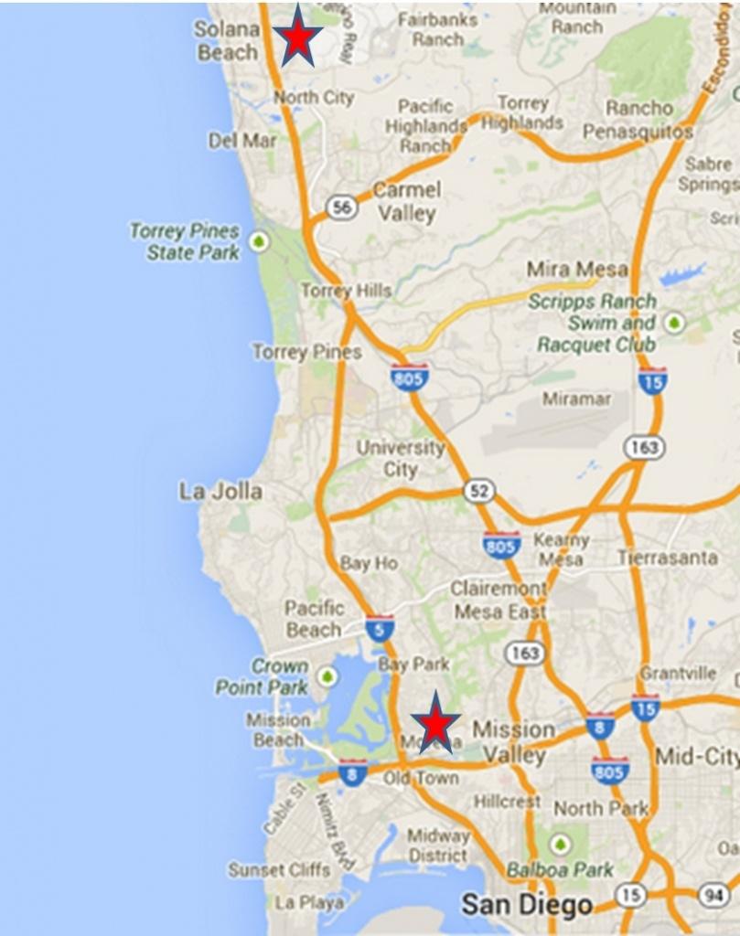 Maps. Google Maps San Diego – Wallydogwear Throughout San Diego - Where Is Del Mar California On The Map