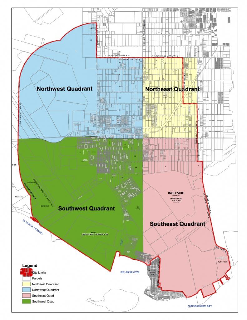 Maps | Ingleside, Texas - Texas Property Map
