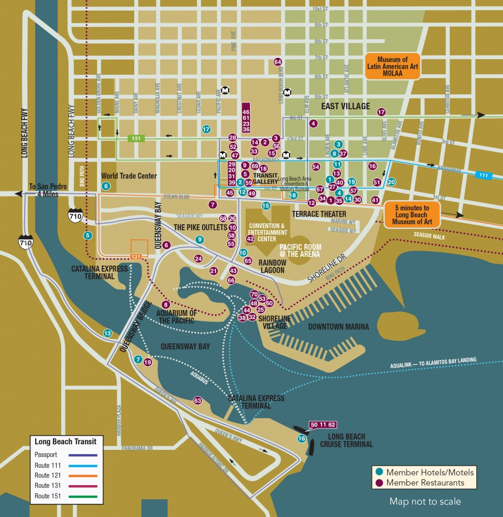 Maps - Long Beach City Guide - Best Western Locations California Map