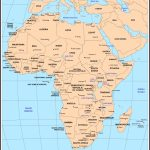 Maps Of Africa   Printable Map Of Africa With Countries And Capitals