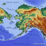 Maps Of Alaska State, Usa   Nations Online Project   Printable Map Of Alaska With Cities And Towns