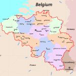 Maps Of Belgium | Detailed Map Of Belgium In English | Tourist Map   Printable Map Of Belgium