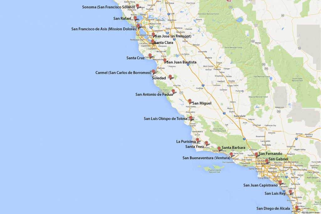 Maps Of California - Created For Visitors And Travelers - Google Maps California