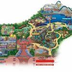 Maps Of Disneyland Resort In Anaheim, California   Southern California Amusement Parks Map