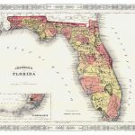 Maps Of Florida | Collection Of Maps Of Florida State | Usa | Maps   Old Florida Road Maps