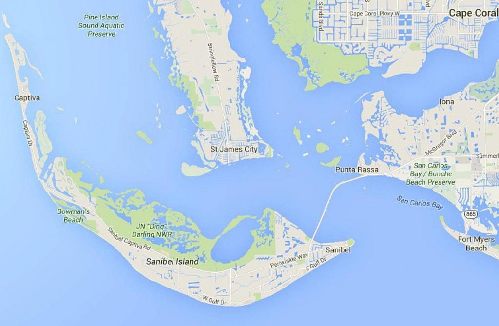Maps Of Florida: Orlando, Tampa, Miami, Keys, And More - Captiva Florida Map