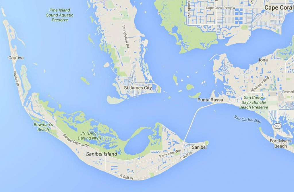 Map Of Florida Gulf Coast Islands | Printable Maps
