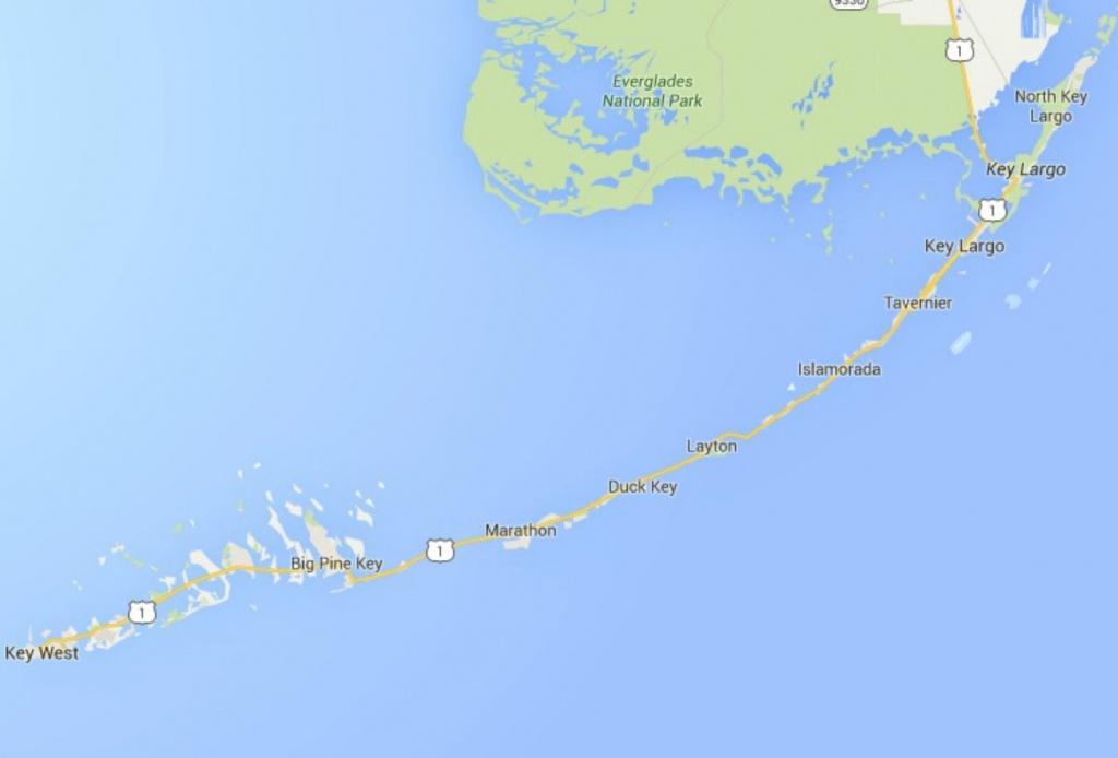 Maps Of Florida: Orlando, Tampa, Miami, Keys, And More - Map Of Florida Keys And Miami