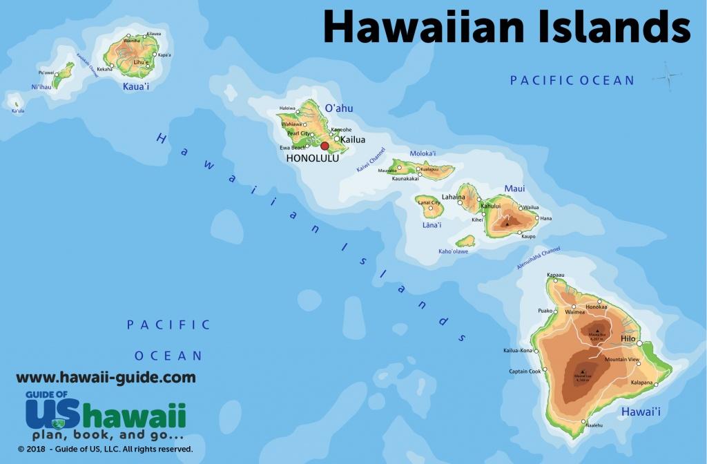 Maps Of Hawaii: Hawaiian Islands Map - Printable Map Of Hawaii