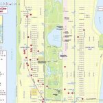 Maps Of New York Top Tourist Attractions   Free, Printable   Printable Street Map Of Manhattan Nyc