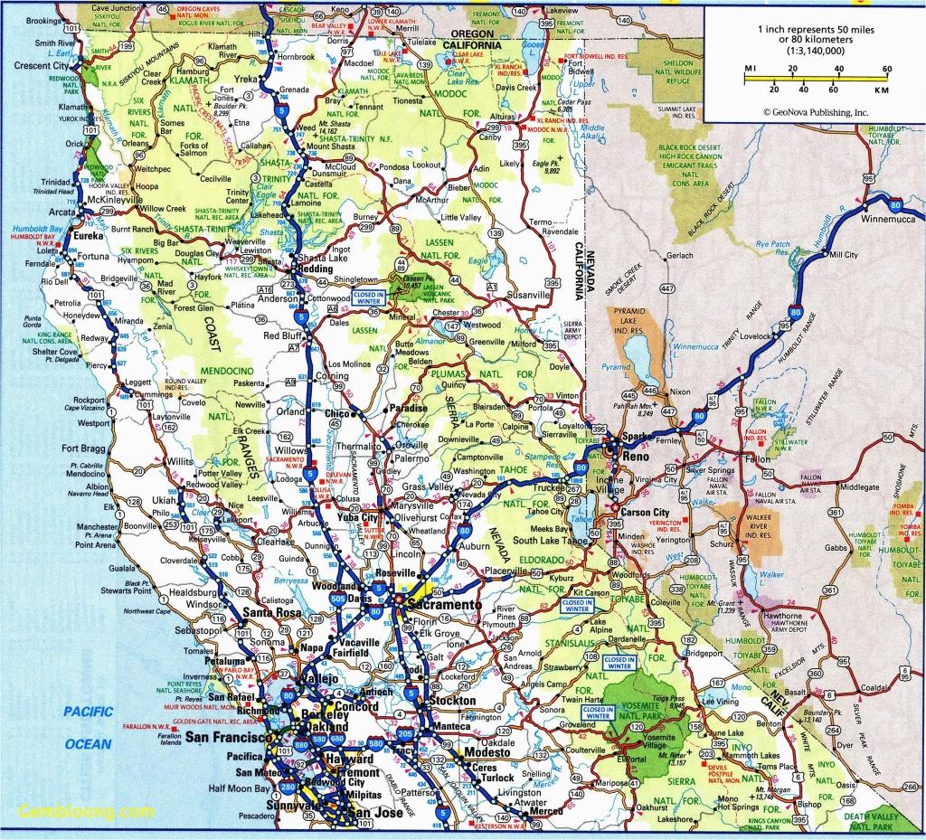 Maps Of Northern California Coast Map Of Central Coast California - Map Of Central And Northern California Coast
