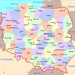 Maps Of Poland | Detailed Map Of Poland In English | Tourist Map Of   Printable Map Of Poland
