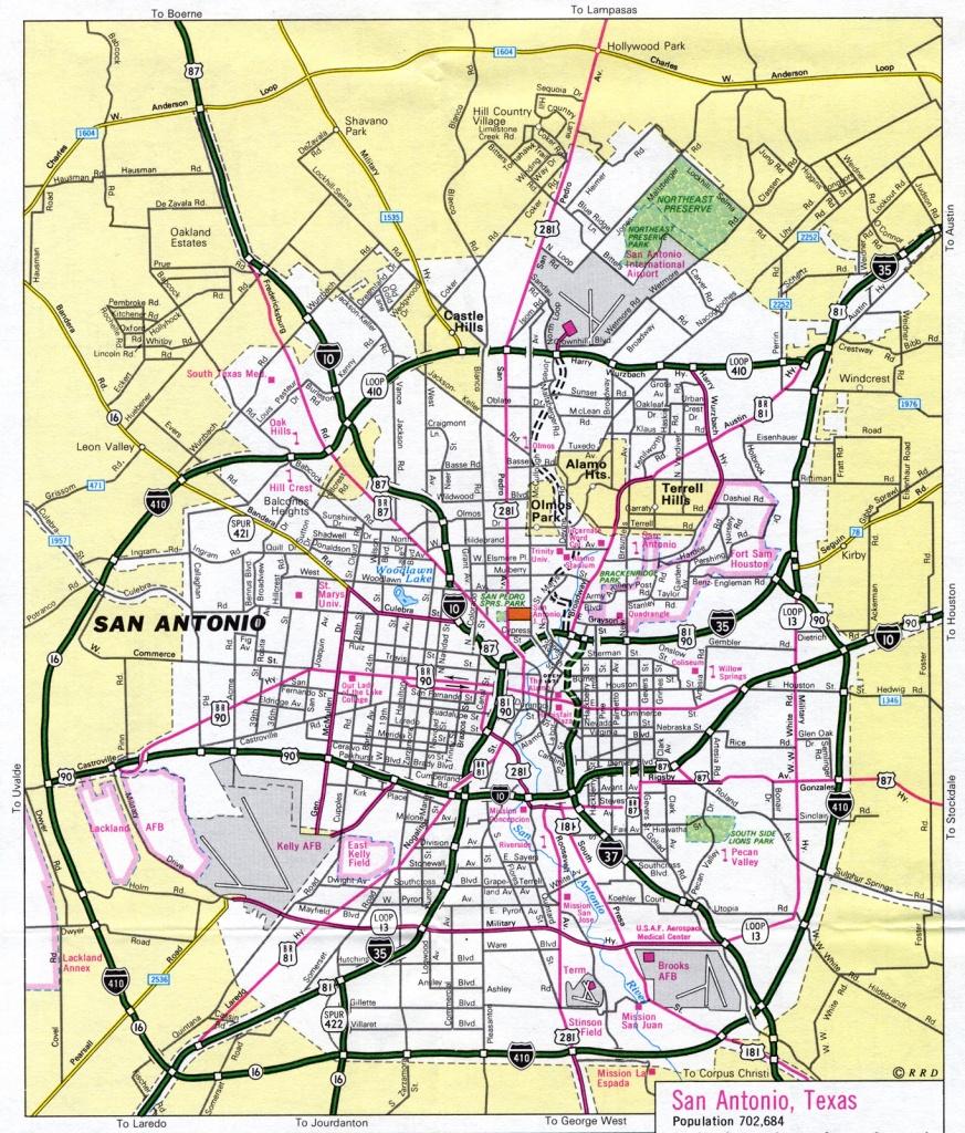 Maps Of San Antonio Texas | Business Ideas 2013 - Map Of San Antonio Texas And Surrounding Area