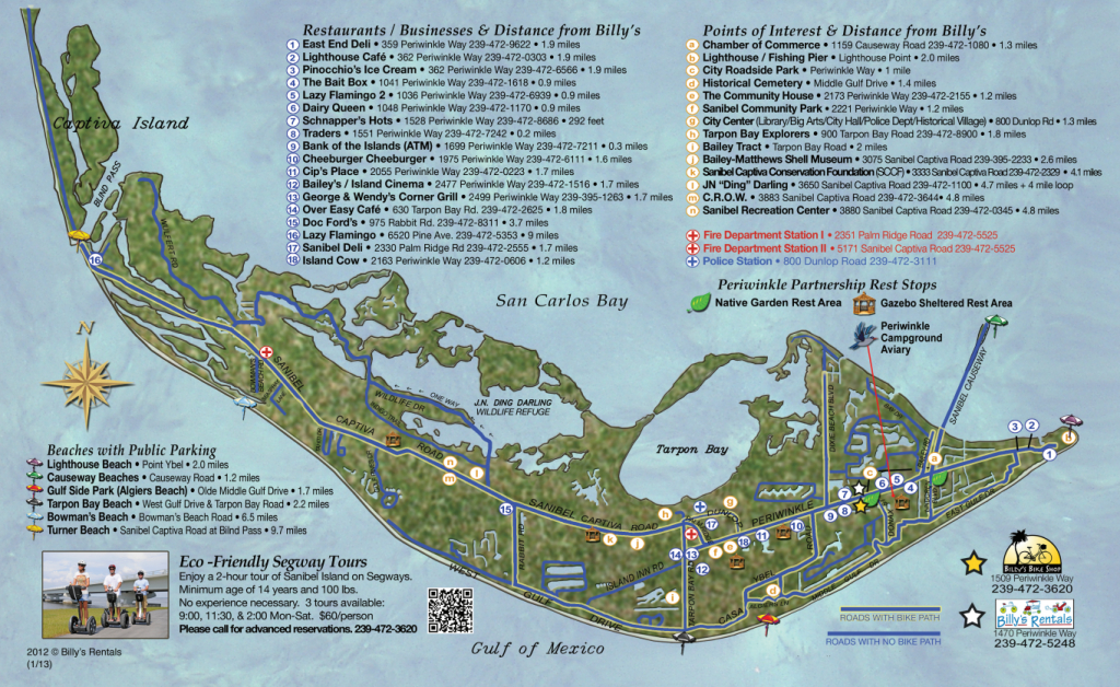 Maps Of Sanibel Island | Sanibel Map | Favorite Places & Spaces - Sanibel Island Florida Map