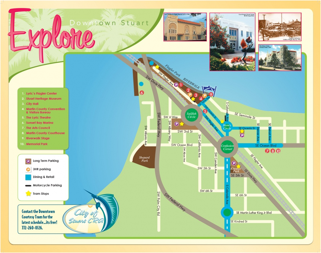 Maps Of Stuart Florida And Travel Information | Download Free Maps - Map Showing Stuart Florida