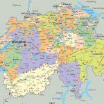 Maps Of Switzerland | Detailed Map Of Switzerland In English   Printable Map Of Switzerland
