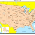 Maps Of The United States   Printable State Maps With Major Cities