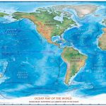 Maps Of The World Oceans   Maplewebandpc   World Ocean Map Printable