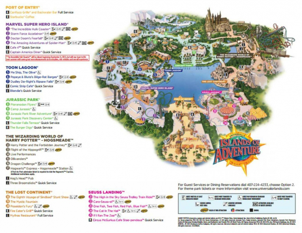 Maps Of Universal Orlando Resort's Parks And Hotels - Florida Theme Parks On A Map