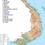 Maps Of Vietnam → North, South, Railway, Airport | Northern Vietnam   Printable Map Of Vietnam
