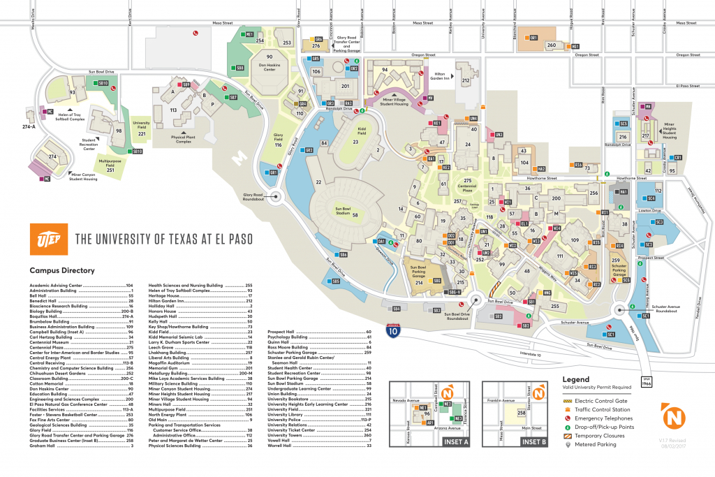 Maps - Texas Tech Housing Map