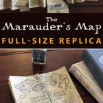 Marauder's Map Full Size Replica | Hp | Harry Potter Bedroom, Harry   Marauder's Map Replica Printable