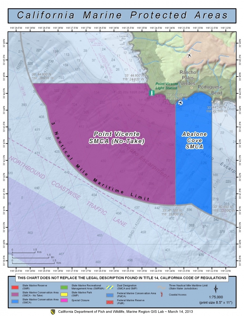 Marine Protected Areas   Los Angeles County Fire Department - California Marine Protected Areas Map
