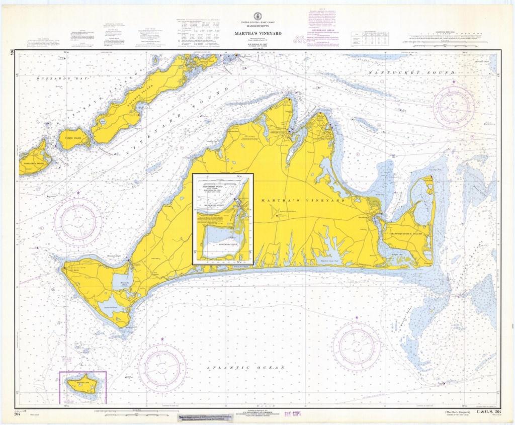 Martha's Vineyard Map 1968 | Etsy - Martha's Vineyard Map Printable