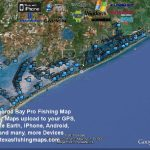 Matagorda Bay Gps Fishing Spots   Texas Fishing Spots Maps For Gps   Texas Coastal Fishing Maps